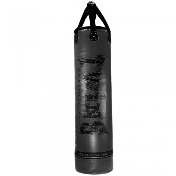 TWINS SPECIAL HEAVY PUNCHING BAG HBS-5 6FT SYNTEK LEATHER GRAFIT