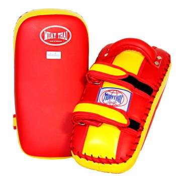 MUAY THAI BRANDS THAI PADS RED-GOLD