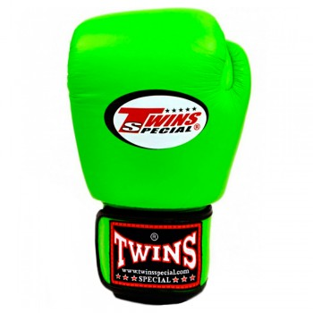 BOXING GLOVES FOR KIDS TWINS BGVS-3 GREEN