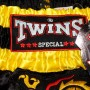 THAI SHORTS FOR KIDS TWINS SPECIAL TBS-14 KIDS DRAGON BLACK-YELLOW