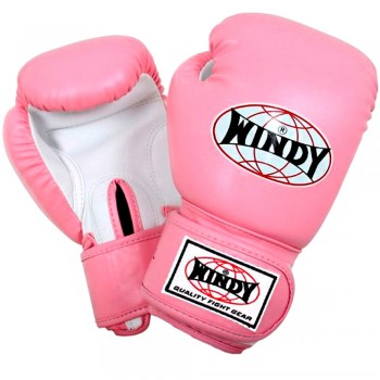 BOXING GLOVES FOR KIDS WINDY BSG PINK