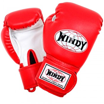 BOXING GLOVES FOR KIDS WINDY BSG RED