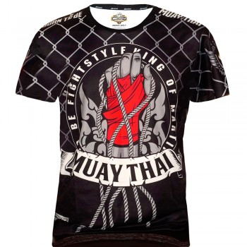 T-SHIRTS MUAY THAI BORN TO BE FOR KIDS PSBT-13 TECH QUICK DRY WICKING