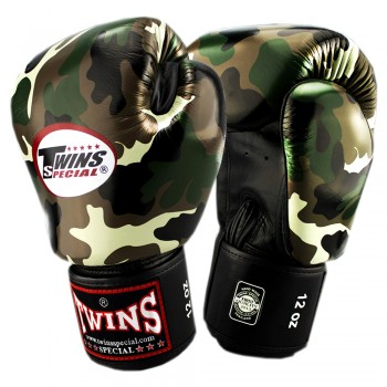 BOXING GLOVES TWINS SPECIAL FBGV-ARMY JG