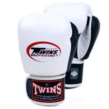 BOXING GLOVES TWINS SPECIAL BGVL-3T WHITE-BLACK