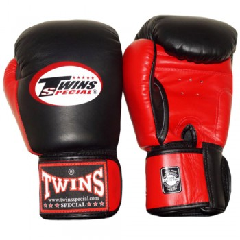 BOXING GLOVES TWINS SPECIAL BGVL-3T BLACK-RED