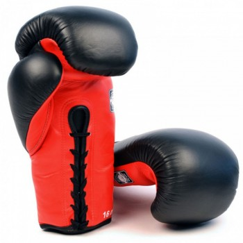 BOXING GLOVES TWINS SPECIAL BGLL-1 BLACK-RED