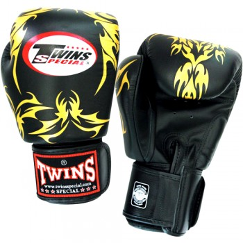 BOXING GLOVES TWINS SPECIAL FBGV-35-BLACK