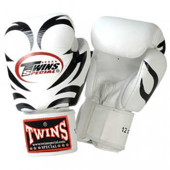 BOXING GLOVES TWINS SPECIAL FBGV9 WHITE TATTOO