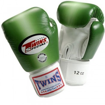 BOXING GLOVES TWINS SPECIAL FBGV-4 GREEN