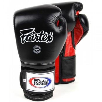 Boxing Gloves Fairtex BGV9 Mexican Style Black-Red
