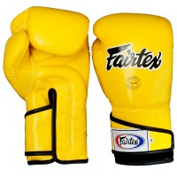 BOXING GLOVES FAIRTEX BGV6 YELLOW