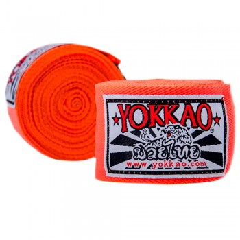 YOKKAO PREMIUM HAND WRAPS ORANGE