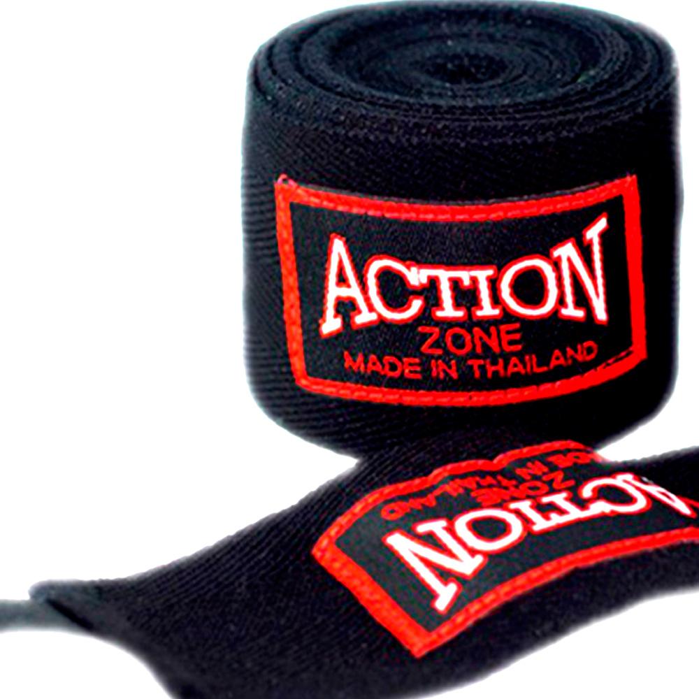Action Zone Hand Wraps Black