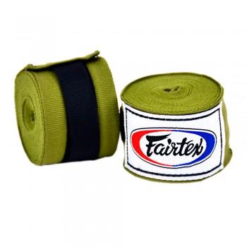 FAIRTEX HAND WRAPS HW2 GREEN OLIVE