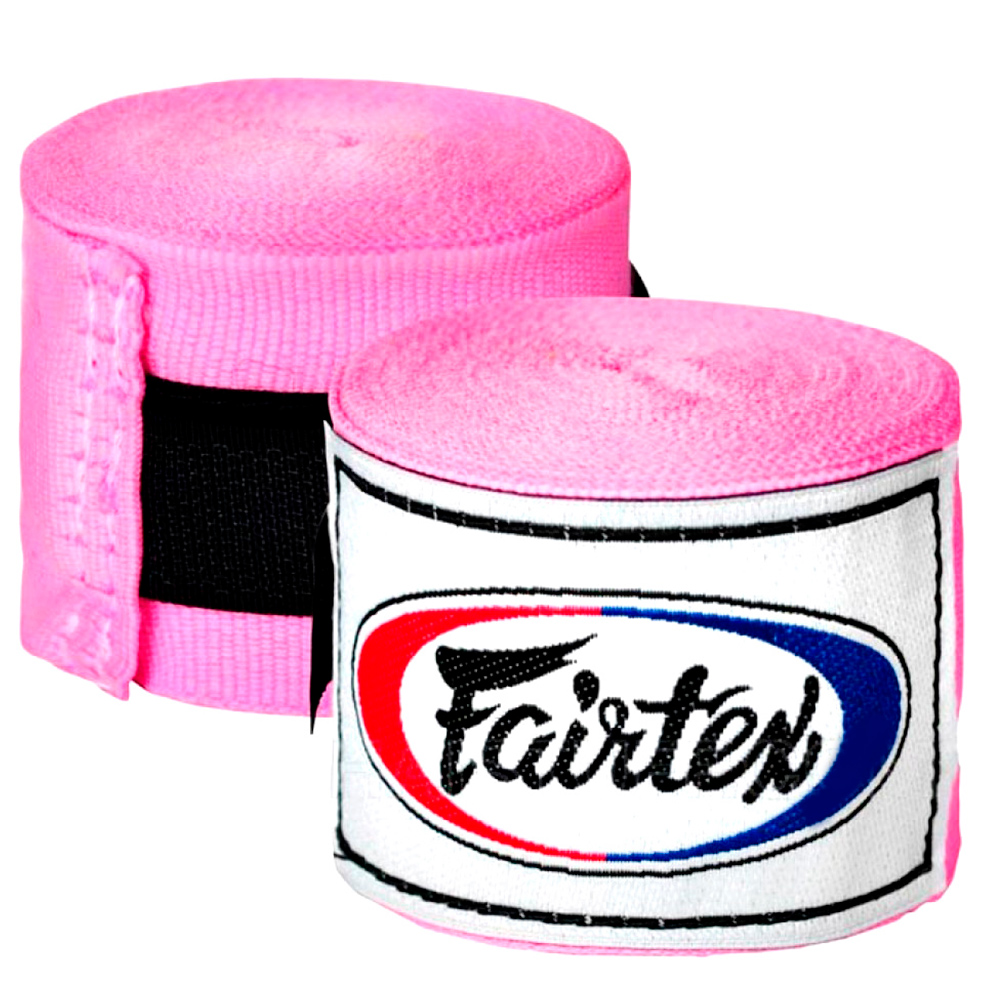 FAIRTEX MUAY THAI BOXING HAND WRAPS HW2 PINK