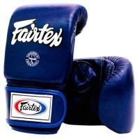 FAIRTEX BAG GLOVES TGO3 BLUE SEMI THUMB