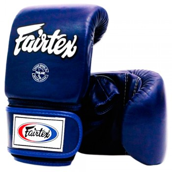 BAG GLOVES FAIRTEX TGO3 BLUE SEMI THUMB