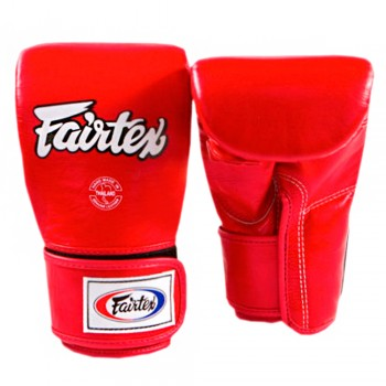 BAG GLOVES FAIRTEX TGT7 RED FULL THUMB