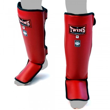 SHIN GUARDS TWINS SPECIAL  SGL-3 RED