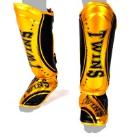 SHIN GUARDS TWINS SPECIAL FSG-TW-4 GOLD BLACK