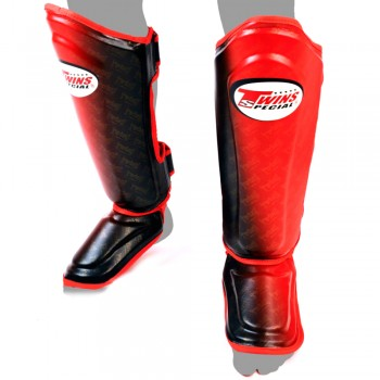 SHIN GUARDS TWINS SPECIAL FSG-TW1 RED-BLACK