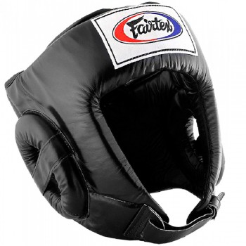BOXING HEADGEAR FAIRTEX HG1 BLACK