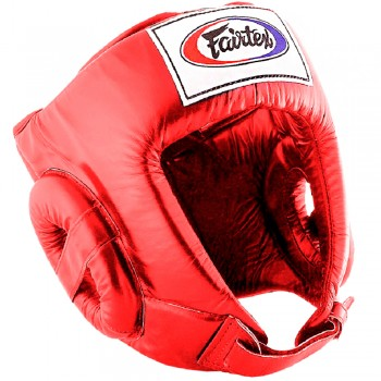 Boxing Headgear Fairtex HG1 Red