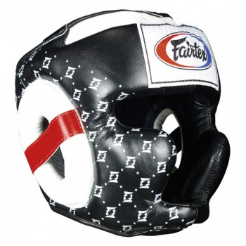 BOXING HEADGEAR FAIRTEX HG10 NEW SUPER SPARRING  BLACK