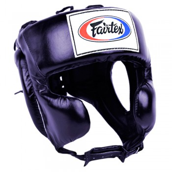 Boxing Headgear Fairtex HG8 Mexican Style Blue
