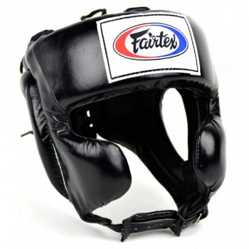 Boxing Headgear Fairtex HG8 Mexican Style Black