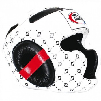 Boxing Headgear Fairtex HG-10 White
