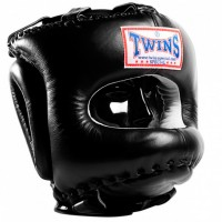 BOXING HEADGEAR TWINS HGL-10 BLACK
