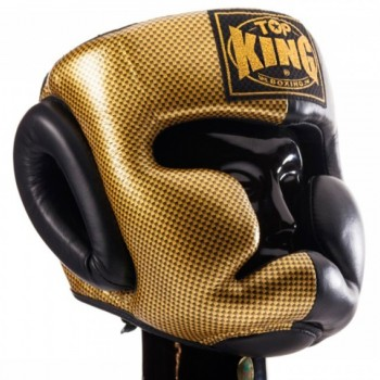 BOXING HEADGEAR TOP KING TKHGEM 02 GD BL