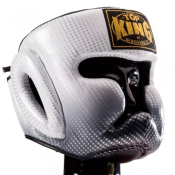 BOXING HEADGEAR TOP KING TKHGSS-01SV SUPER STAR SILVER