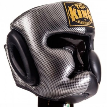 BOXING HEADGEAR TOP KING TKHGEM 02 SILVER