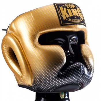 BOXING HEADGEAR TOP KING TKHGSS-01GD SUPER STAR GOLD
