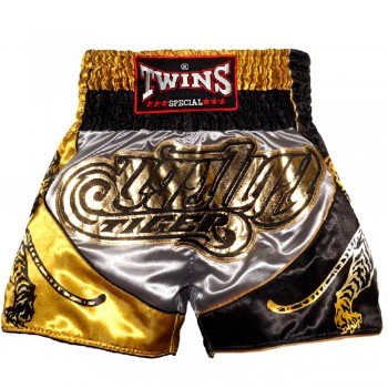 THAI SHORTS TWINS SPECIAL TIGER GOLD SILVER