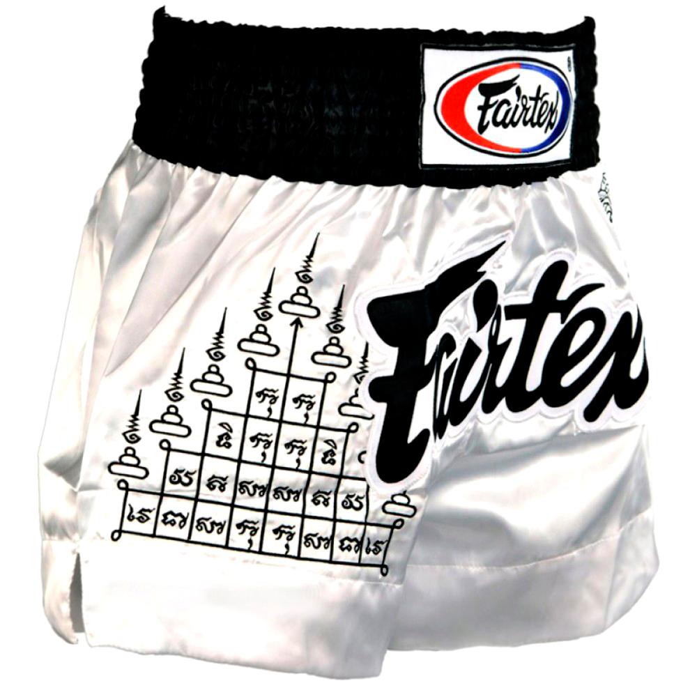 "BS0637 Fairtex /""SUPERSTITION/"" Muay Thai Kickboxing Shorts"