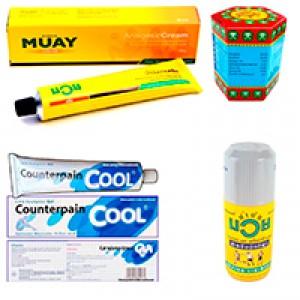 Muay Thai Oil. Namman Muay