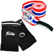BOXING WRAPS/ELBOW PADS