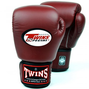 BOXING GLOVES TWINS SPECIAL BGVL3 MAROON RED