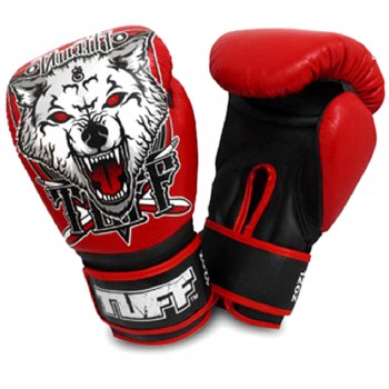 Boxing Gloves TUFF Wolf Red