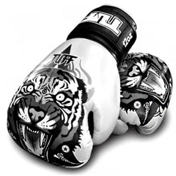 Boxing Gloves TUFF Tiger White