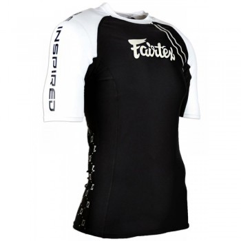 Rash Guard Fairtex RG2 Black Short Sleeve