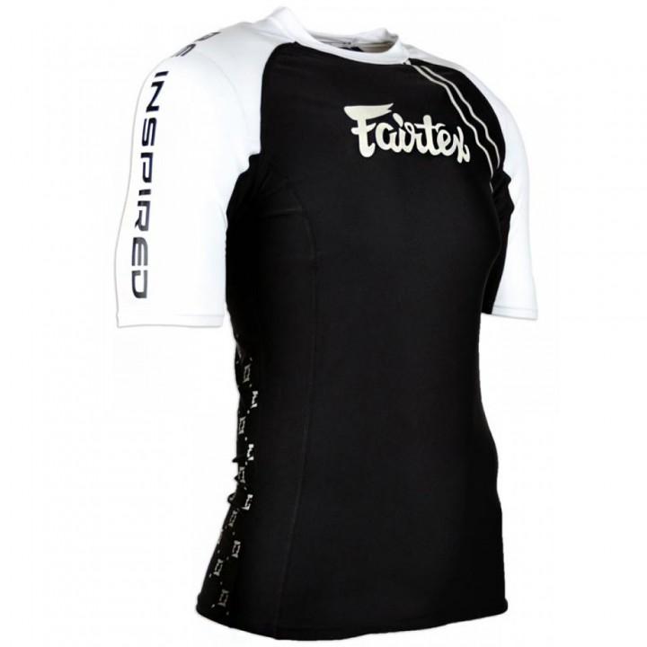 Rash Guard Fairtex RG2 Black Short Sleeve