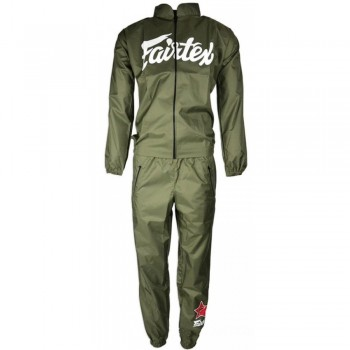 SWEATSUIT SAUNA FAIRTEX VS2 VINYL GREEN