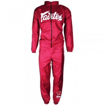 Sweatsuit Sauna Fairtex VS2 Vinyl Maroon