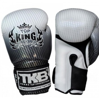 BOXING GLOVES TOP KING SUPER STAR TKBGSS-01 AIR SILVER