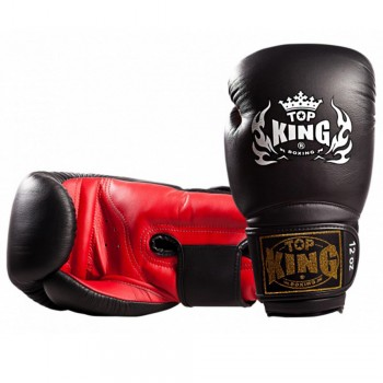 BOXING GLOVES TOP KING TKBGSV BLACK-RED